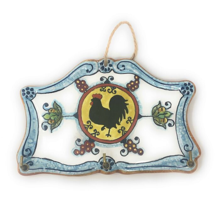 Keyring rooster tuscan