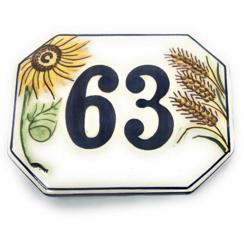 Number tile custom