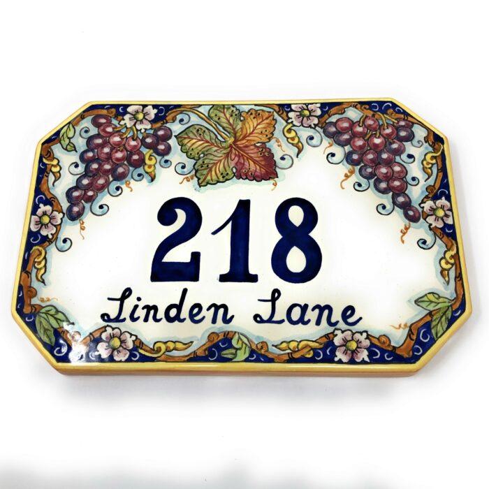 Number tile
