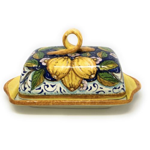 Butter dish Three lemons