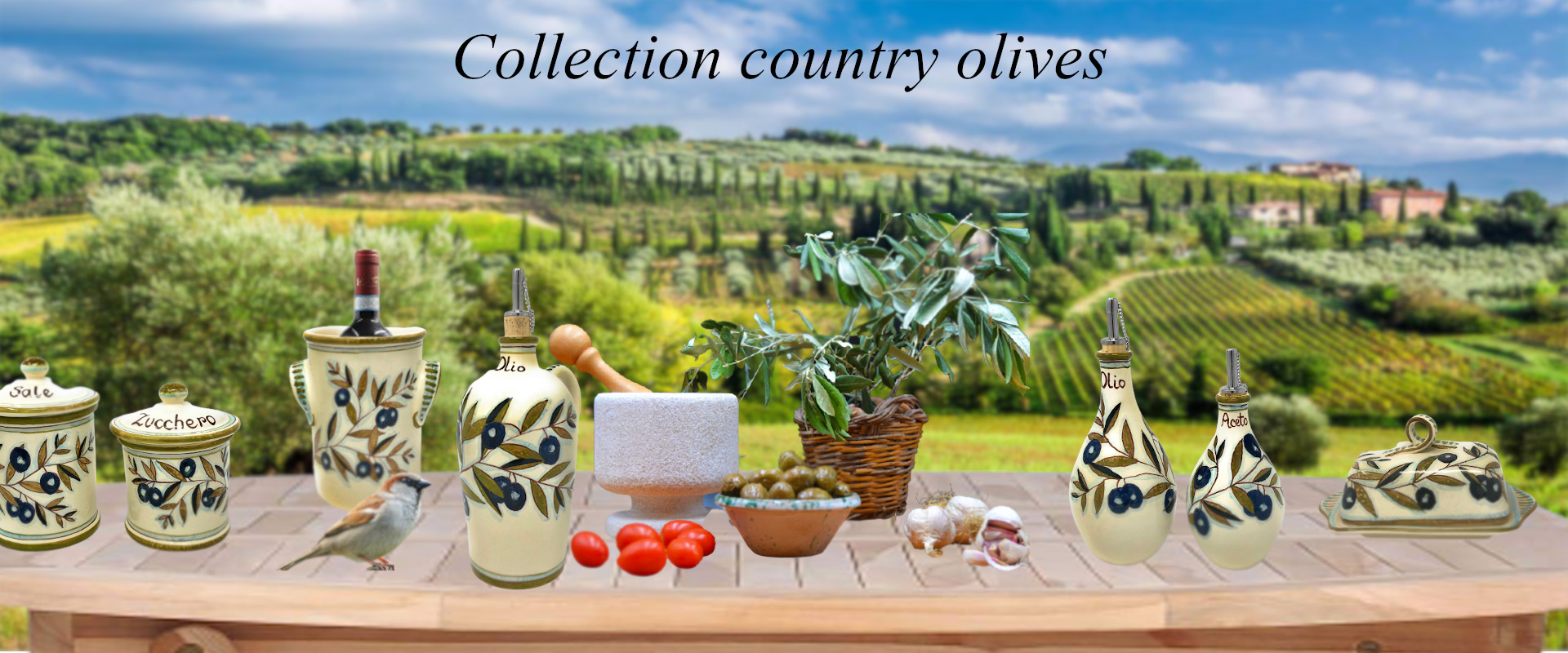 collection country olives