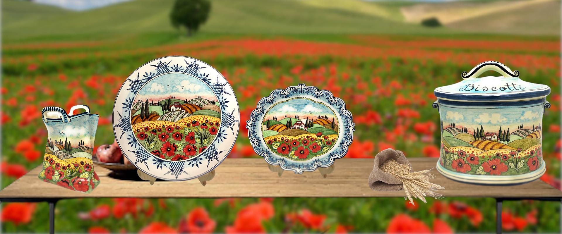 Landscape Poppies